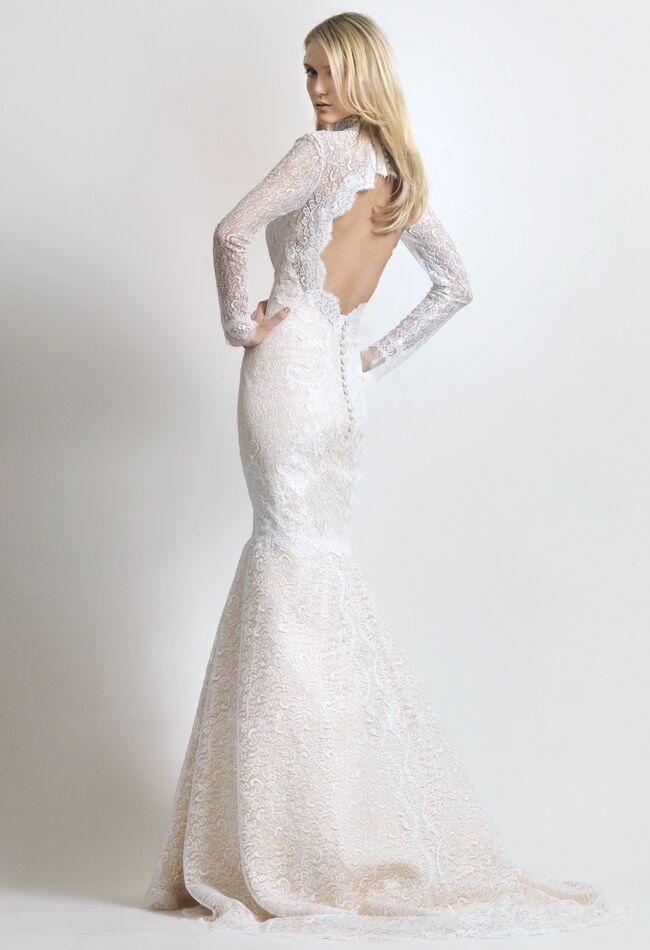 See kim kardashians givenchy wedding dress and get the look wedding dress by christos costarellos junglespirit Gallery