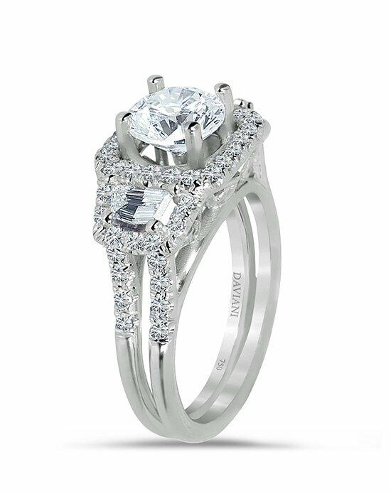 Daviani Love Links Collection DCR1003 Engagement Ring photo