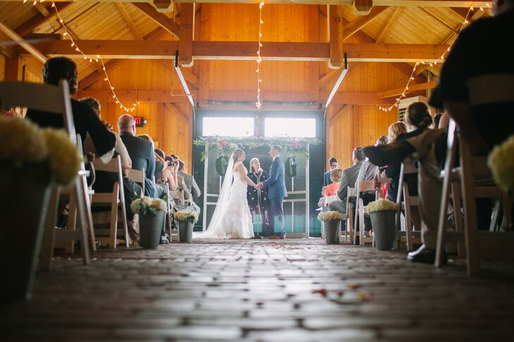 A Rustic Ceremony at Mildale Farms