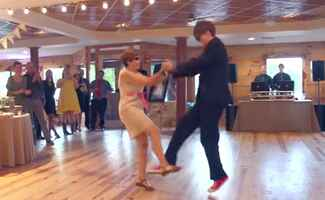 Mother-Son Wedding Dance: Jared Dauenhauer via YouTube / TheKnot.com