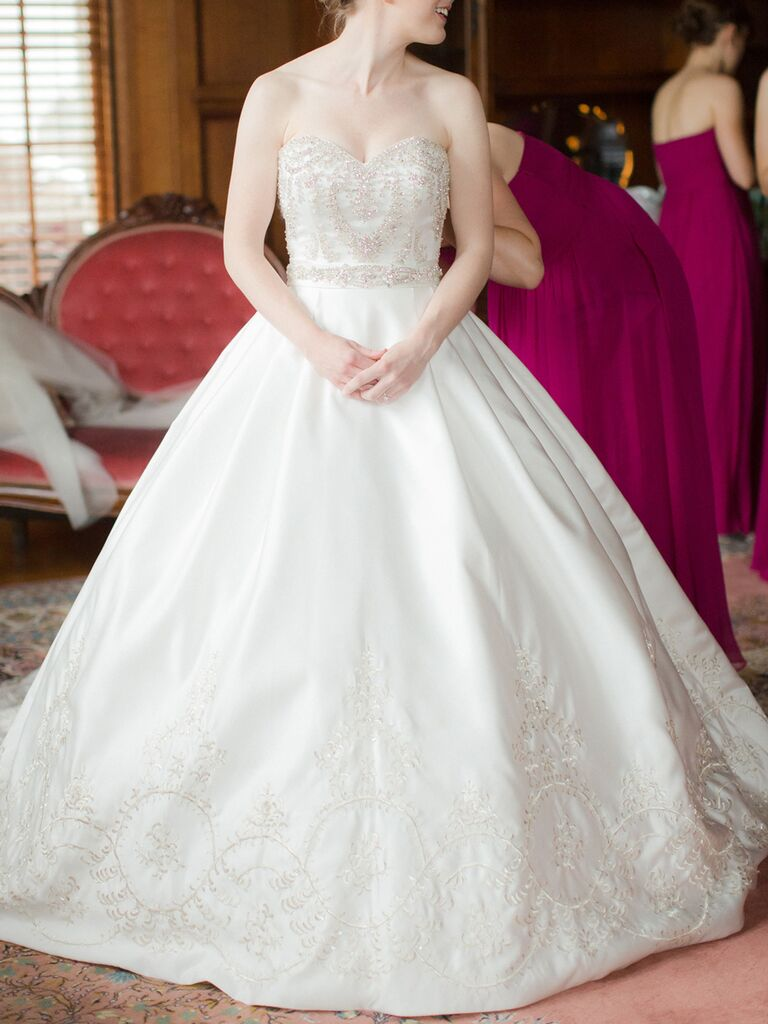Christina Wu Princess Style Wedding Ball Gown With Intricate Beading