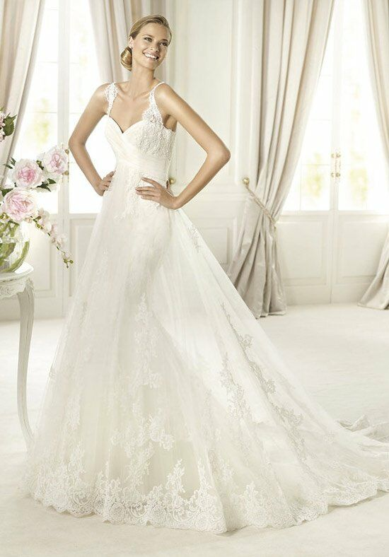 PRONOVIAS PETUNIA Wedding Dress photo