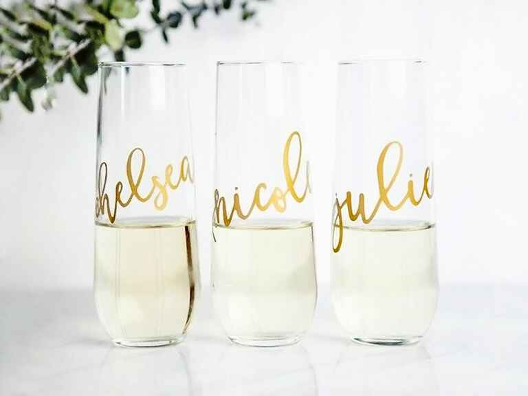 Personalized Stemless Flutes