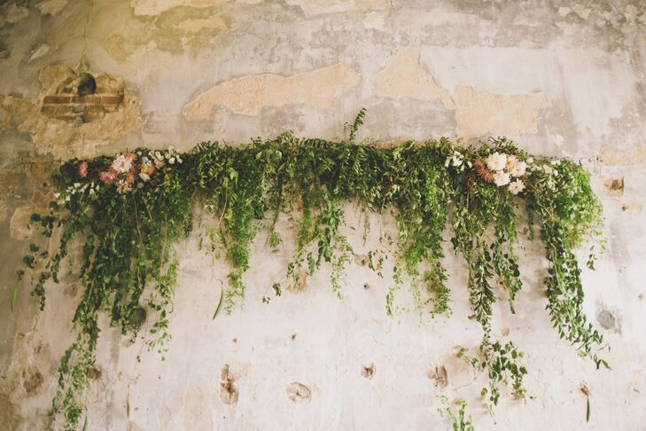 Rustic Green Garland