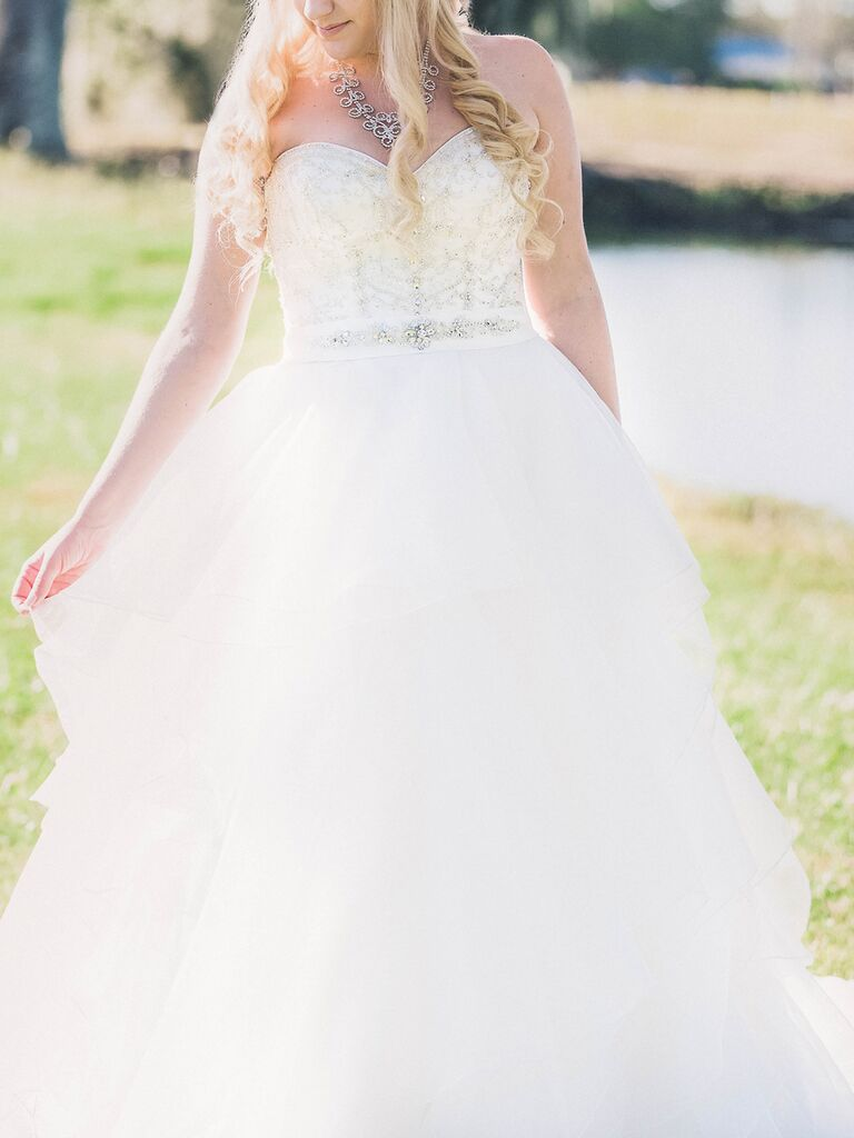 Maggie Sottero Blinged Out Wedding Gown