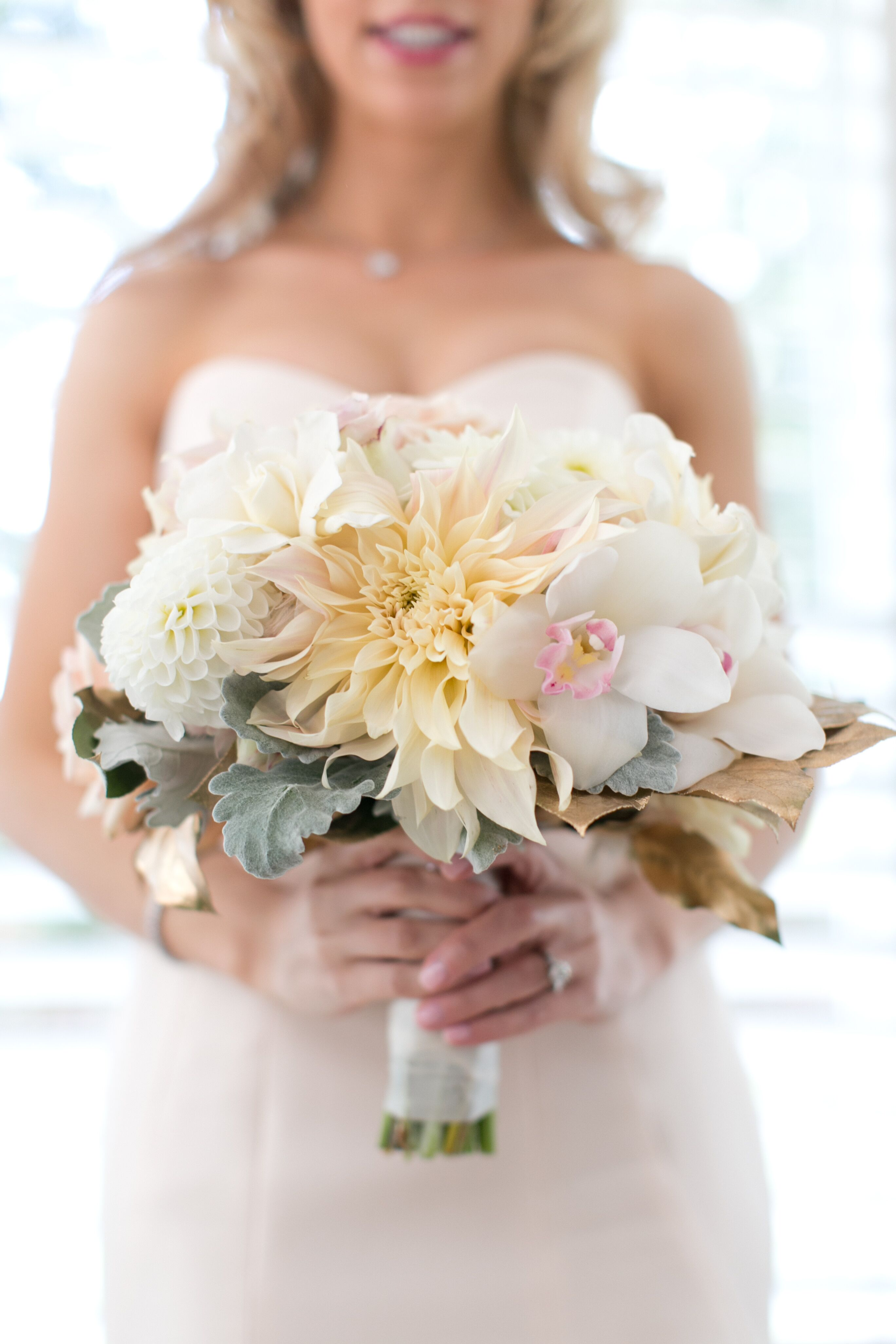 Ivory And White Bridal Bouquet
