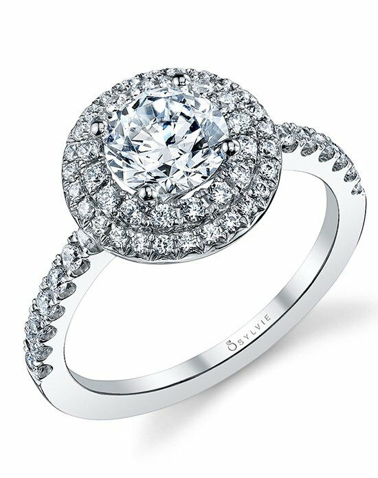 Sylvie Collection S1086 Engagement Ring photo