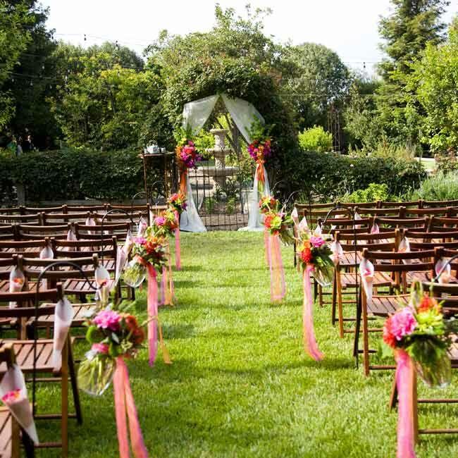 Garden Wedding Ceremony: Naomi & Larry: An Outdoor Wedding In Ventura, CA
