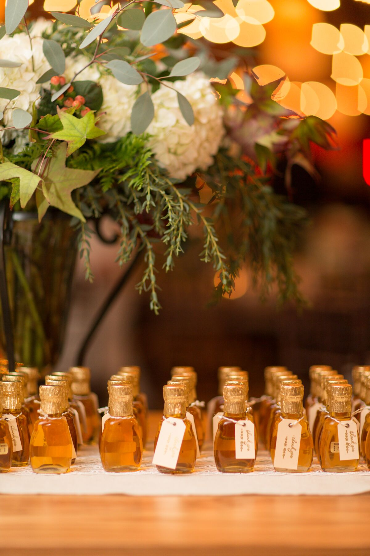 Vermont Maple Syrup Bottle Wedding Favors