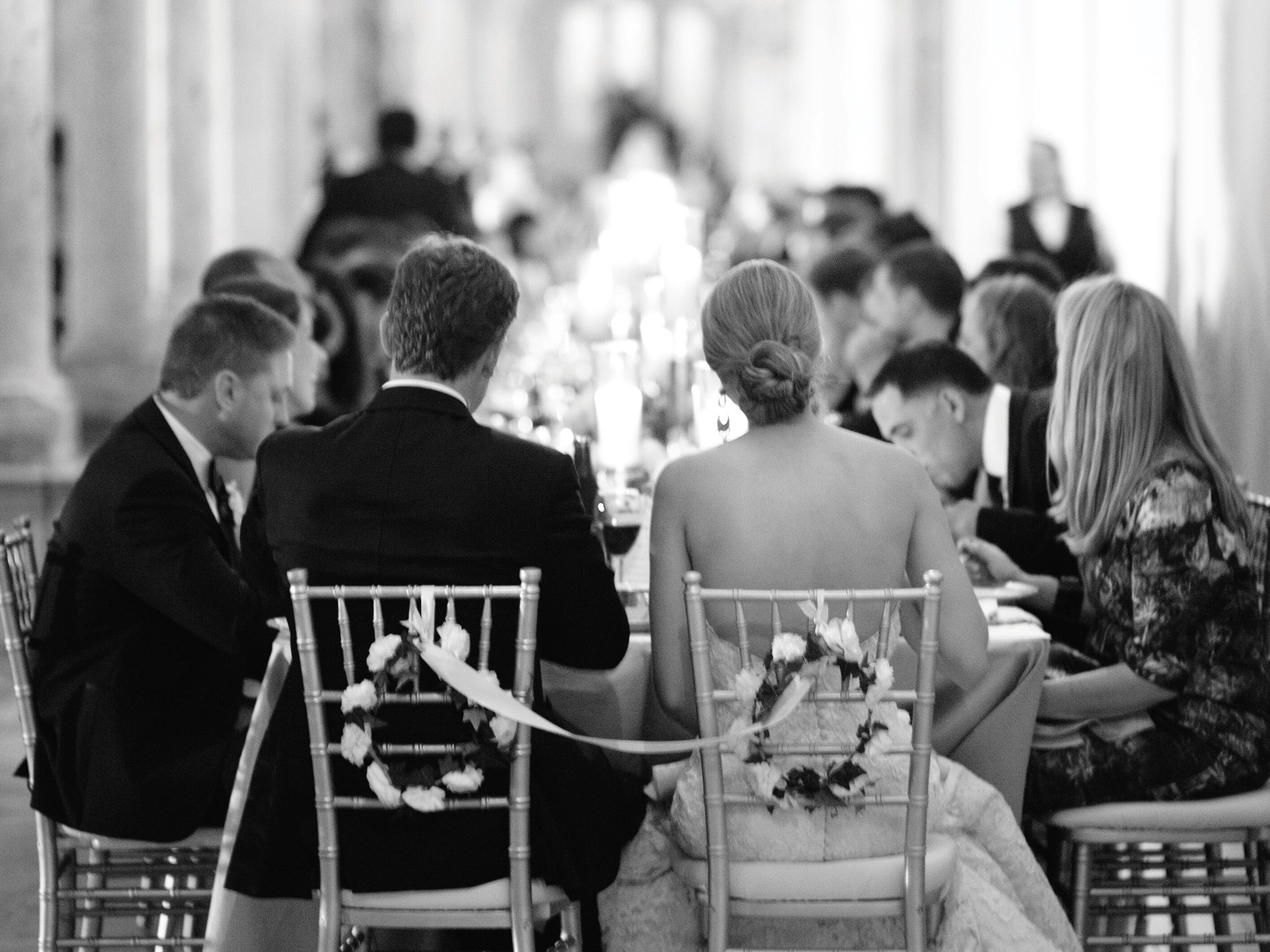 A Traditional Wedding Reception Timeline
