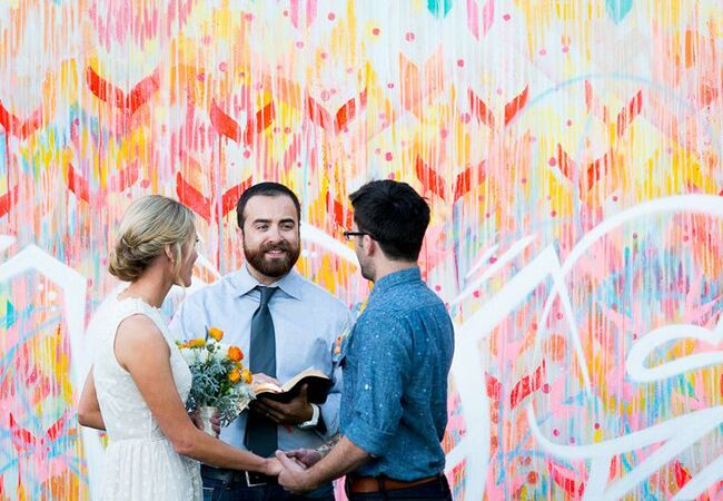 Graffiti Wedding Ideas