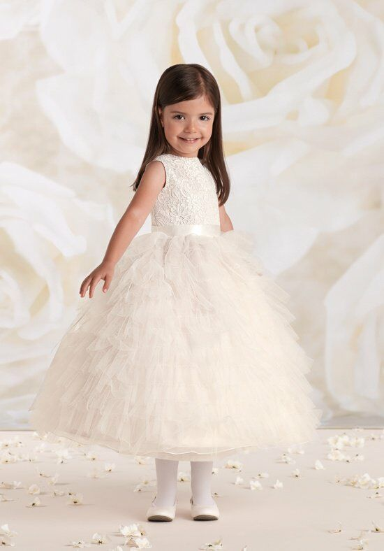 Joan Calabrese by Mon Cheri 115326 Flower Girl Dress photo
