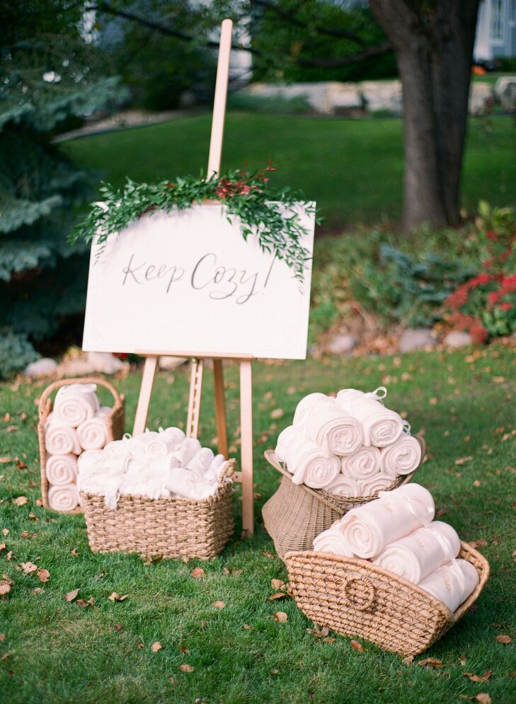 Keep Cozy Throw Blanket Favors
