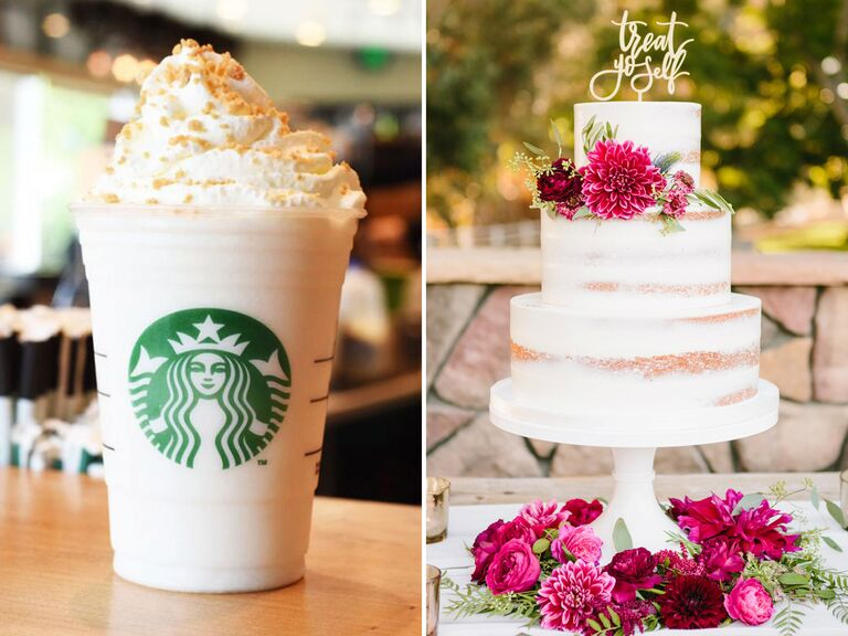 Find Your Wedding Cake Flavor Based On Starbucks Frappuccino Order Quiz