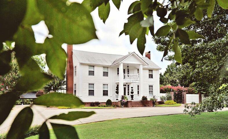 Wedding Venues In Carrollton Ga The Inn At Oak Lawn Farms