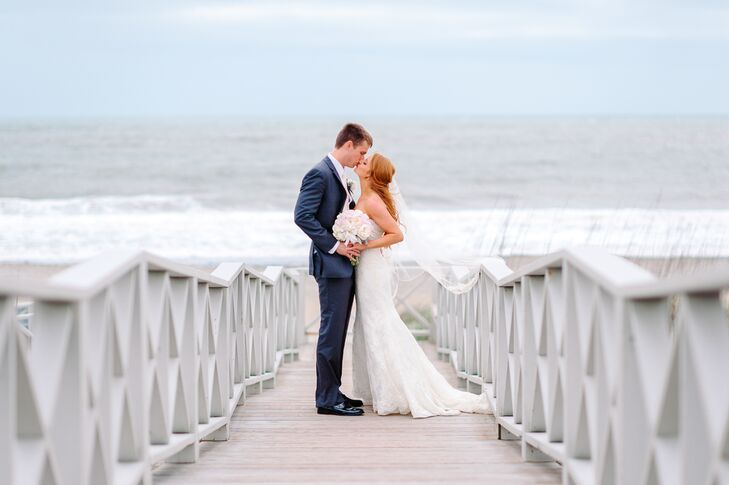 A Romantic Beach Wedding At DeBordieu Club In Georgetown South Carolina