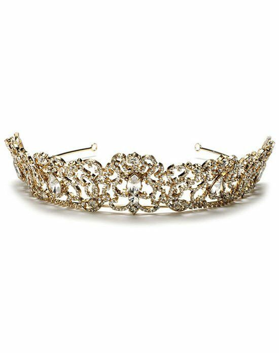 USABride Pageantry Gold Crown TI-211-G Wedding Accessory photo