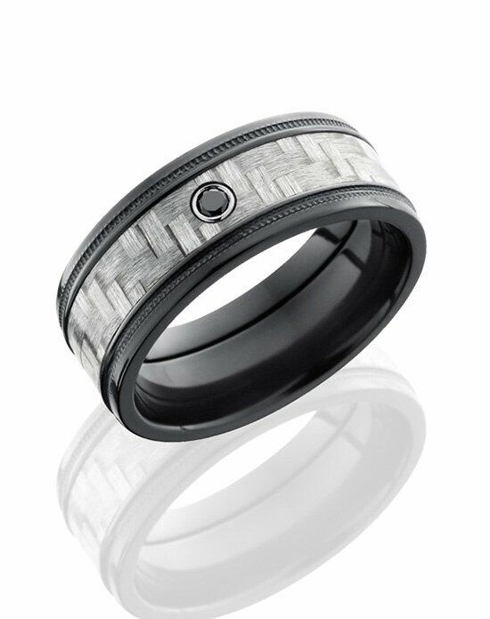 Lashbrook ZC9FGEW2MIL15/SILVERCFBLKDIA.05 Wedding Ring photo
