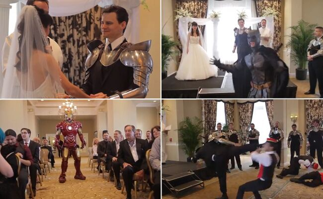 This Is How A Video Game Creator Gets Married…