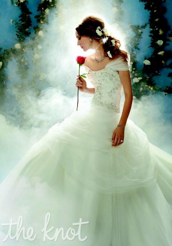Disney Fairy Tale Weddings by Alfred Angelo 206 Belle Wedding Dress photo