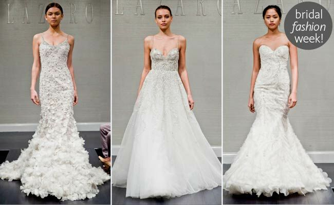 Lazaro Fall 2014 Wedding Dresses