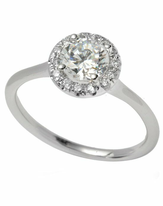 Timeless Designs R1184 Engagement Ring photo