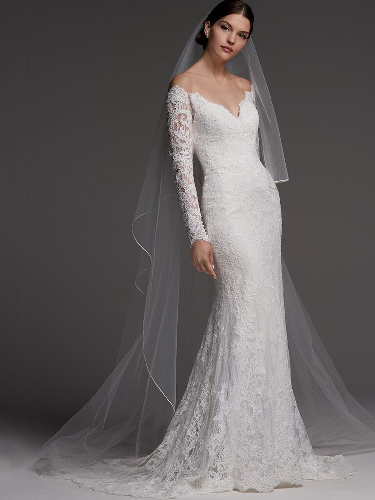 Watters wedding dress 2018 with lace