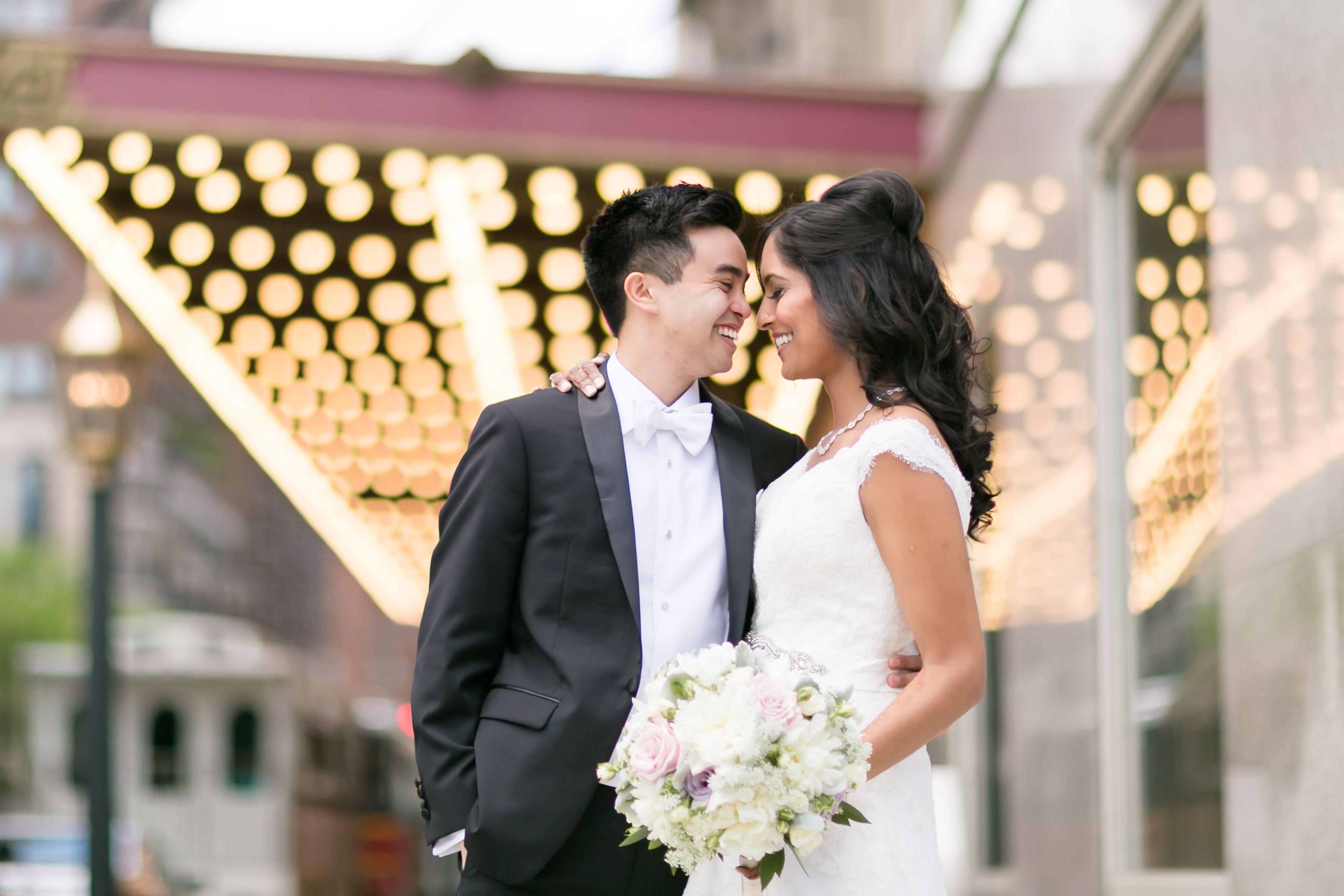 A Glamorous Modern Indian Filipino Fusion Wedding At The Navy Pier