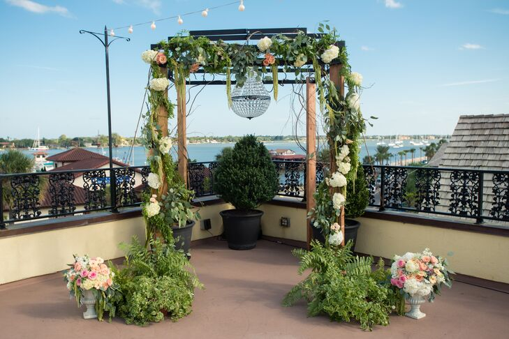 Whimsical, Garden-Inspired Ceremony Archy