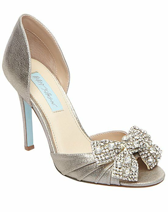 Blue by Betsey Johnson SB-Gown-Silver Wedding Accessory photo