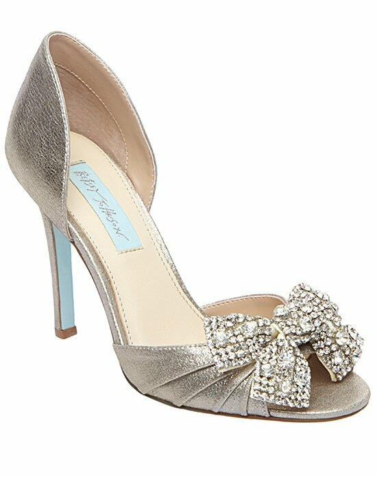 Blue by Betsey Johnson SB-Gown-Silver Wedding Shoes photo