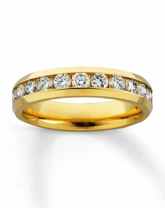 Kay Jewelers Diamond Band 14K Yellow Gold Supreme Fit 1ct tw-530095102 Wedding Ring photo