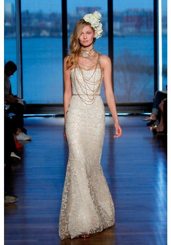 Ines Di Santo Sahara Wedding Dress photo