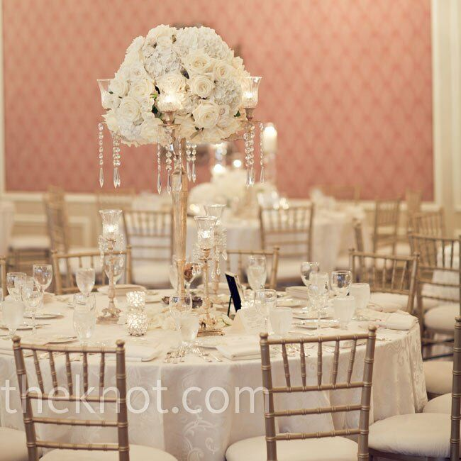 Romantic Wedding Centerpieces: A Romantic Traditional Wedding In Long Grove, IL