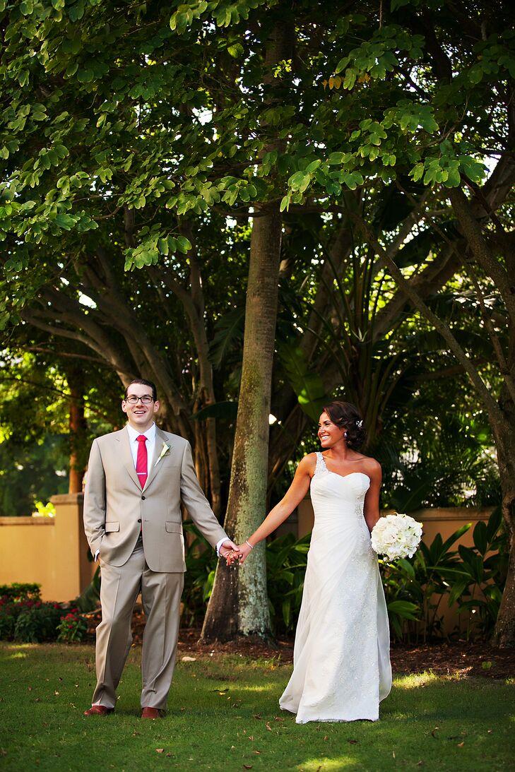 A Colorful Beach Wedding at the Ritz-Carlton Sarasota Beach Club ...