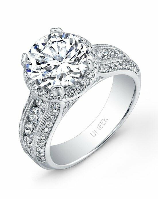 Uneek Fine Jewelry USM014RD-8.0MM Engagement Ring photo