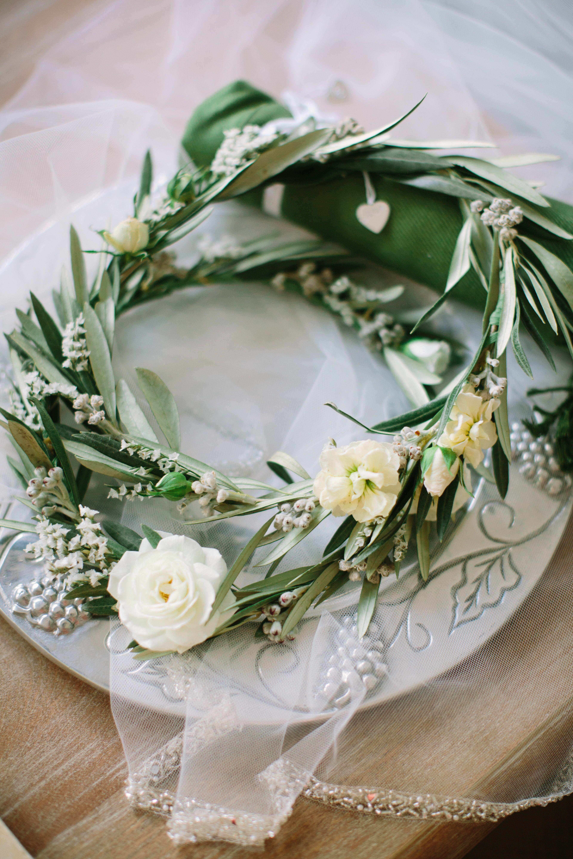Olive Branch Floral Crown
