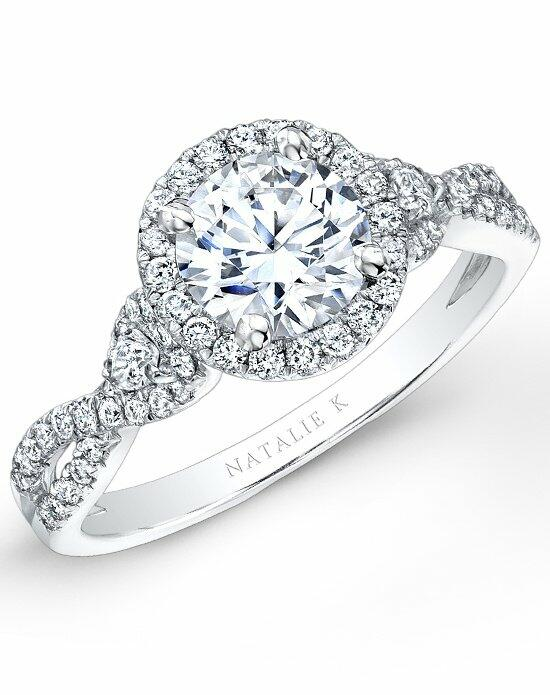 Natalie K Eternelle Collection - NK26281-W Engagement Ring photo