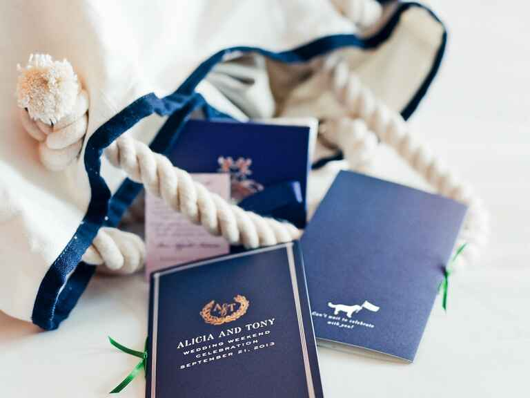 Destination Wedding Gift Bag Ideas: What Goes In The Welcome Bag