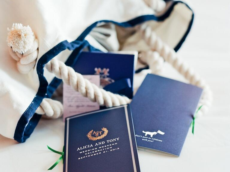 Thank Your Guests For Traveling With These Destination Party Favors 10 Creative Welcome Bag Ideas Unique Wedding