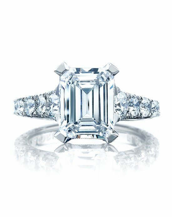 Tacori HT 2623 EC 10X8 Engagement Ring photo