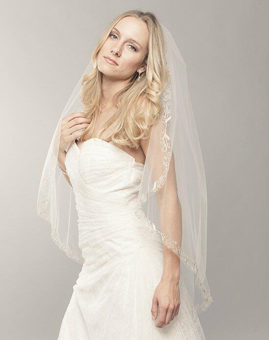 Laura Jayne Bianca Gold Embroidered Veil Wedding Veils photo
