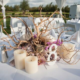 Centerpieces Beach Wedding