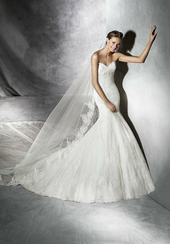 PRONOVIAS PRUNE Wedding Dress photo