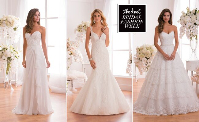 Jasmine Collection Wedding Dresses 2015 Feature Dramatic Silhouettes