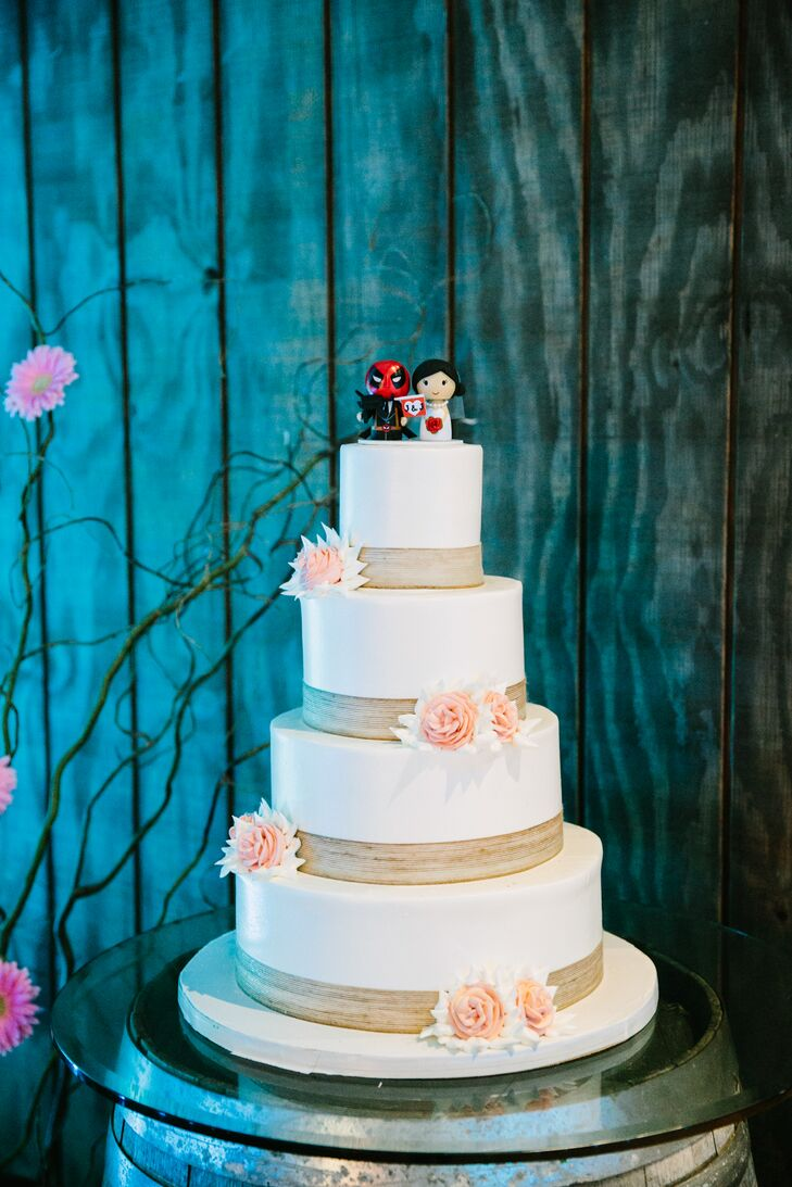 Four-Tier Classic Wedding Cake