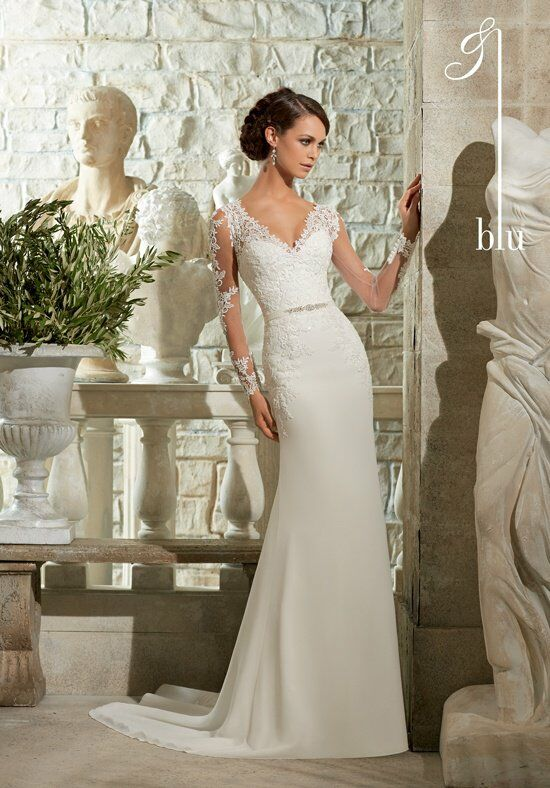 Blu by Madeline Gardner 5306 Wedding Dress photo