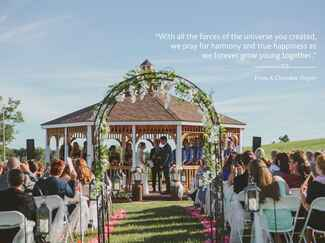 A Cherokee Prayer wedding ceremony reading