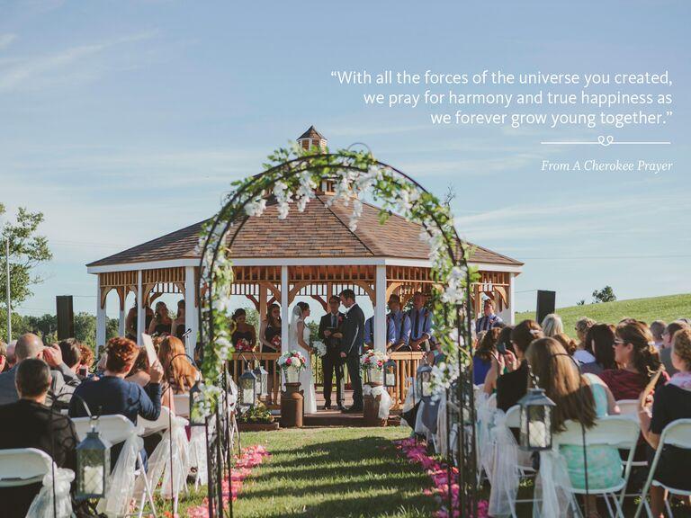 A Cherokee Prayer Wedding Ceremony Reading
