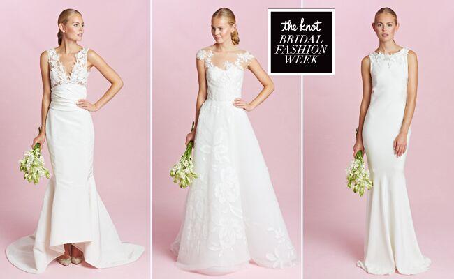 Oscar De La Renta Wedding Dresses Fall 2015: Bridal